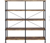 Western Double Back Bar Display Unit