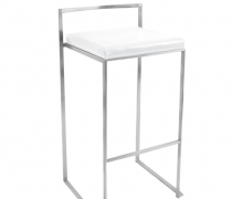 Malta Bar Stool White
