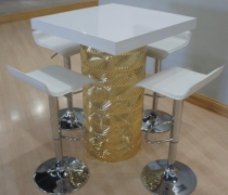 Gatsby Gold High Top Table