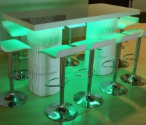 Wave High Top Communal Table