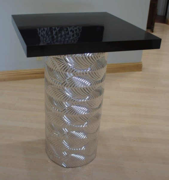 Art Deco Silver High Top Table Archives Just Bars