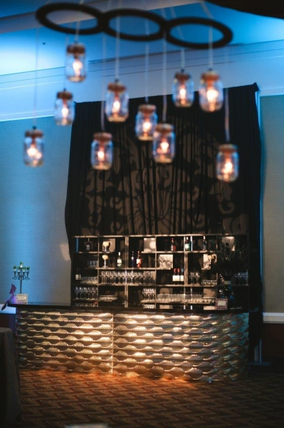 back bar lighting. Gatsby Gold Mirrored Bar W/ Deco Back Units Lighting O