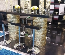 Gatsby Gold Mirrored Collection