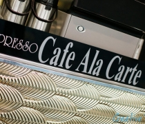 Cafe Ala Carte Gold Mirrored Cafe