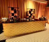 Gatsby Gold Mirrored Bar