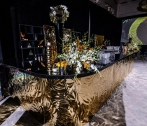 Gold Mirrored Petals Collection