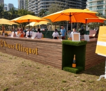 Plank Wood - Veuve Clicquot Puppy Brunch
