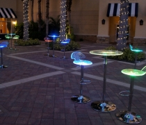LED Swirl High Tops & Bar Stools