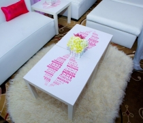 Branded Cocktail Tables