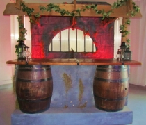 Barrel Bar Surround