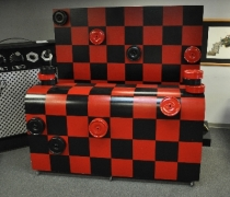 Checkers Bar Surround