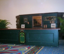 Hunter Green Double Bar Surround