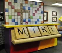 Scrabble Bar Surround