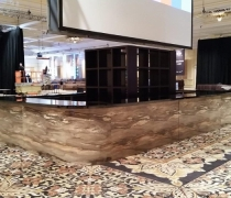 Montana Bar | Shown as a 26' x 15' Center Bar